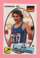 Figurina Panini 1988 N°68 - Silke Moller-Gladisch - Atletica