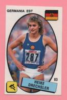 Figurina Panini 1988 N°83 - Heike Drechsler - Atletica