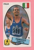 Figurina Panini 1988 N°76 - Francesco Panetta - Atletica