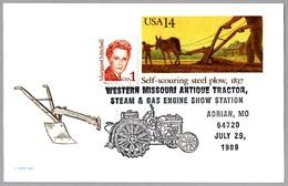 WESTERN MISSOURI ANTIQUE TRACTOR STEAM & GAS ENGINE SHOW. Adrian MO 1989 - Agricultura