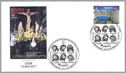 COFRADIA DE LAS SIETE PALABRAS DE JESUS EN LA CRUZ - SEMANA SANTA. Leon 2017 - Cristianismo