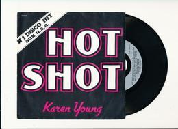 "KAREN YOUNG "" HOT SHOT "" Disque FLARENASCH 1978   TRES BON ETAT !! - Rock"