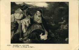 CPM - Musée Du Louvre - La Vierge Au Lapin - Museum