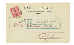 MARCOPHILIE - LEVANT - BUREAU FRANCAIS A L'ETRANGER - TP N°14 SUR CP OB BEYROUTH - SYRIE - 1913 - Syrie