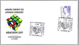 Albaeuropa 2009. CUBO DE RUBIK - RUBIK'S CUBE. Portoferraio, Livorno, 2009 - Infancia & Juventud