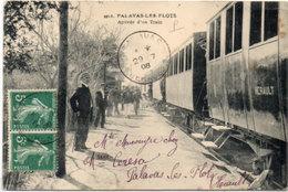 PALAVAS LES FLOTS - Arrivée D' Un Train     (537 ASO) - Palavas Les Flots