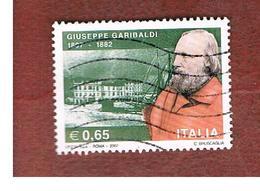 ITALIA -   2007 GIUSEPPE GARIBALDI    -   USATO  ° - 6. 1946-.. Repubblica
