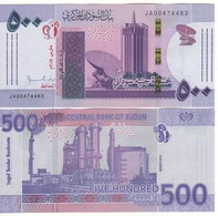 SUDAN  New Issue  500 Sudanese Pounds     Dated  2019 - Soedan