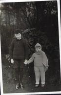 Esch -Alzette  -  Pierchen A Josy Nilles   12 Januar 1933 - Stereoscopic