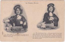 La Femme Avocat. 4 & 5 - Métiers