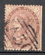JAMAIQUE - (Colonie Britannique) - 1870-72 - N° 13 - 1 S. Marron - (Victoria - Jamaica (...-1961)