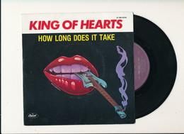 "KING OF HEARTS "" HOW LONG DOES IT TAKE "" Disque CAPITOL 1978   TRES BON ETAT !! - Rock"