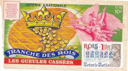 BL 167 / BILLET  LOTERIE NATIONALE   TRANCHE   DES ROIS LES GUEULES CASSEES    1979 - Billets De Loterie