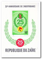 Zaïre 1985, Postfris MNH, 25 Years Independence - Zaïre