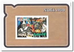 Zaïre 1980, Postfris MNH, Christmas - Zaïre