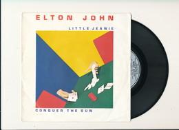 "ELTON JOHN "" LITTLE JEANIE "" Disque THE ROCKET RECORD COMPAGNY 1980   TRES BON ETAT !! - Rock"