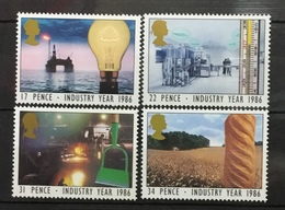 GREAT BRITAIN # 1129-1132.  Industry Year.  MNH (**) - 1952-.... (Elizabeth II)