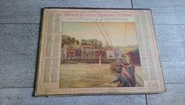Calendrier 1948 Lot Almanach Des Postes Pêche - Big : 1941-60