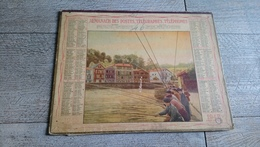 Calendrier 1948 Lot Almanach Des Postes Pêche - Calendriers