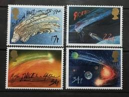 GREAT BRITAIN # 1133-1136.  Haley's Comet.  MNH (**) - 1952-.... (Elizabeth II)