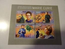 MARIE CURIE Bloc-FEUILLET   2014 Oblitéré - Chimie