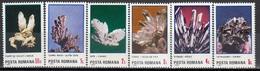 ROMANIA 4202-4207,unused - Minerals