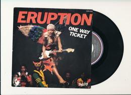 "ERUPTION "" ONE WAY TICKET "" Disque BARCLAY 1979    TRES BON ETAT !! - Rock"