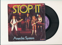 """ANARCHIC SYSTEM """" STOP IT """" Disque DELPHINE 1976    TRES BON ETAT !! - Rock"""