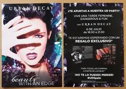 URBAN DECAY. - Perfume Cards