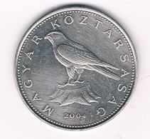50 FORINT 2004 HONGARIJE /4250/ - Hongrie