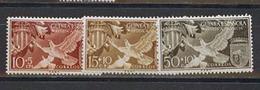 Guinea Spanish Birds, 1958, 3 Stamps - Guinea Spagnola