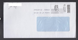 FRANCE COVER LABEL / REPUBLIC OF MACEDONIA ** - Non Classificati