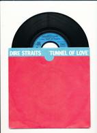"""DIRE STRAITS """" TUNNEL OF LOVE """" Disque VERTIGO 1980    TRES BON ETAT !! - Rock"""