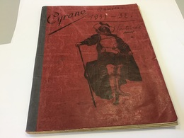 Cahier Cyrano 1931 1932 Facture Le Cahier Est Que Des Factures De 1930 - Vloeipapier
