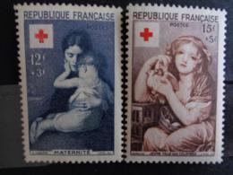 1954 - CERES N° 1006 & 1007 ** - CROIX ROUGE - France