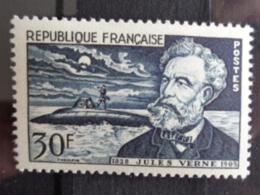 1955 - CERES N° 1026 * - 50e ANNIV. DE LA MORT DE JULES VERNE - France