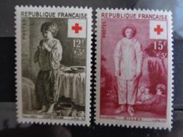 1956 - CERES N° 1089 & 1090 ** - CROIX ROUGE - France