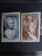 1950 - CERES N° 876 & 877 ** - CROIX ROUGE - France