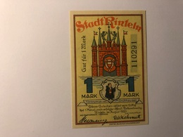 Allemagne Notgeld Rinteln 1 Mark - Collections