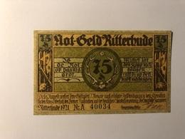 Allemagne Notgeld Ritterhude 75 Pfennig - Collections