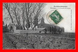 CPA (66) TORREILLES.  La Chapelle De Juègues, Animé, Vignes...G012 - Francia