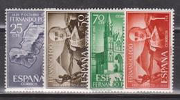 Fernando Poo, 1961,1 .10 1936 -1961 4 Stamps - Fernando Poo