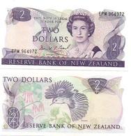 New Zealand - 2 Dollars 1981 - 1992 Pick 170c UNC Lemberg-Zp - New Zealand
