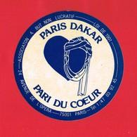 1 Autocollant ASSOCIATION A BUT NON LUCRATIF LOI DE 1901 PARIS DAKAR - Autocollants