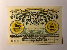 Allemagne Notgeld Rossla 50 Pfennig - Collections