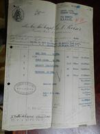 12.2) ITALIA MILANO CORSO MONFORTE DITTA GEREISER FATTURA 1948 - Italy