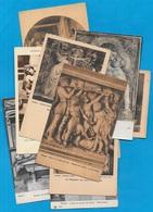 CPA Arts FLORENCE FIRENZE Italia Toscana (Lot De Dix) ** Sculpture Statuaire Architecture Art - Schöne Künste