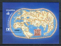 Uganda 1992. Yvert Block 155A ** MNH. - Uganda (1962-...)