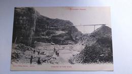 Carte Postale ( S6 ) Ancienne De Pouxeux , Carriére De Grés Rouge - Pouxeux Eloyes