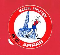 1 Autocollant MARCHE ATHLETIQUE R.C. ARRAS - Autocollants